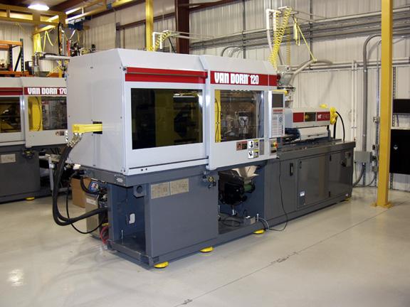 VanDorn 120 Custom Plastics Injection Molding Evansville Indiana IN