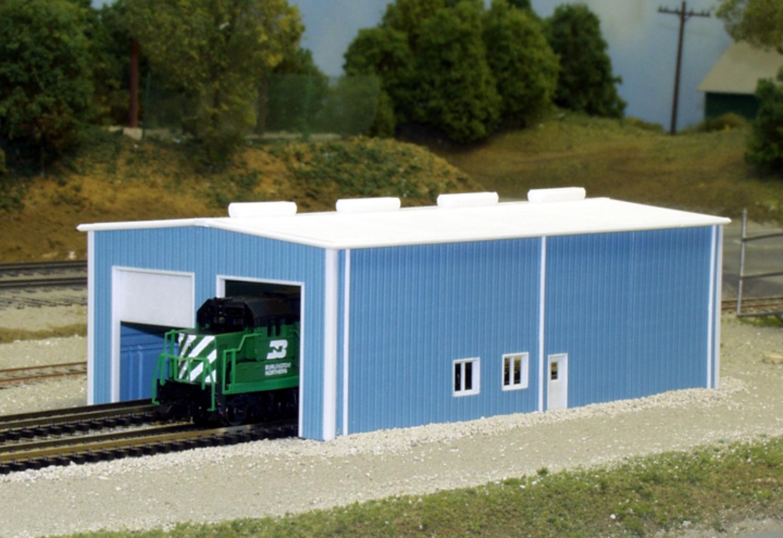 2 door enginehouse n scale