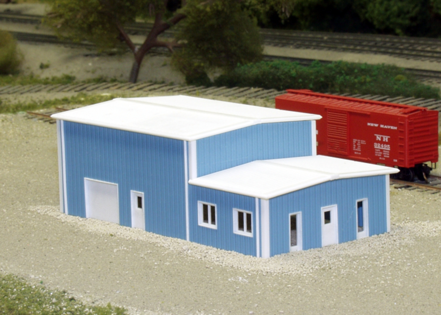Office warehouse n scale