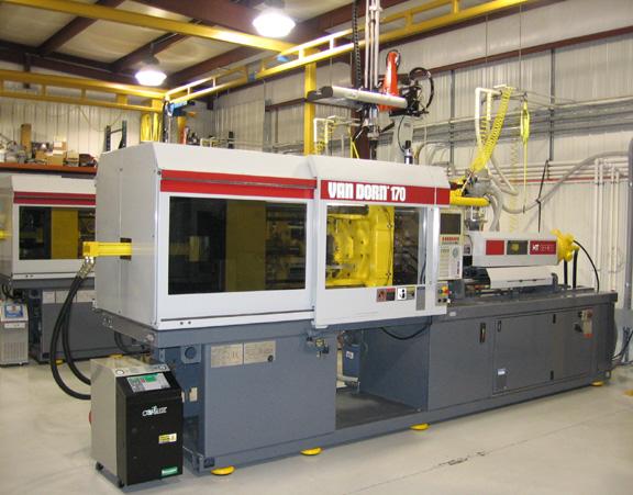 VanDorn 170 Custom Plastics Injection Molding Evansville Indiana IN