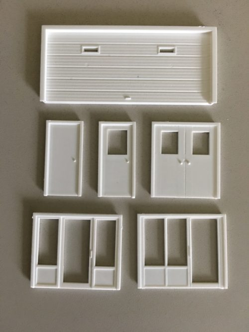 Plastic Parts Kit Pikestuff HO #541-1114 Staircase Handrails