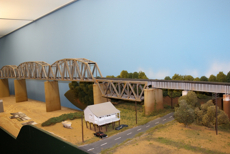 L&N RR Henderson Sub Ohio River Bridge Rick Rideout